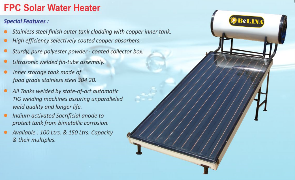 Solar Water Heaters | Belina Multi Industries